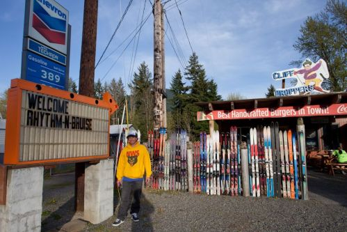 Matt Cummins helped get the R n B going and also runs One Ball Jay, Northwest Snowboards and has the longest running pro snowboard model in history. The town of Packwood, WA welcomed the R n B with open arms